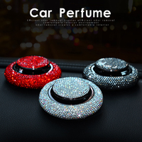 Rhinestone Car Air Freshener Perfume Clips Fragrance Crystal Diamond Air Outlet Vent Fresh Car
