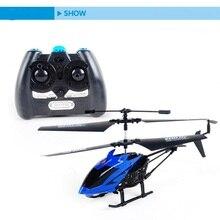 RC Helicoptero Télécommande Jouets Helicoptero de controle remoto un Avion Drone Quadcopter En Plein Air Jouet Pour Garçon A125