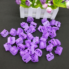 2016 New 40pcs Alphabet Number Letter Fondant Cake Decorating Set Icing Cutter Mold E#CH