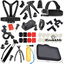 Zookkbb Accessories Head Chest Strap Large Size Monopod Pole Floating Bobber Wifi Remote Hand Belt for gopro hero 5 3 4 4s