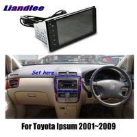 Liandlee 7 для Toyota Ipsum 2001 ~ 2009 Автомобильный Android радио плеер gps NAVI карты HD сенсорный экран ТВ Мультимедиа без CD DVD