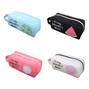 PVC Big Kawaii Pencil Case Sil