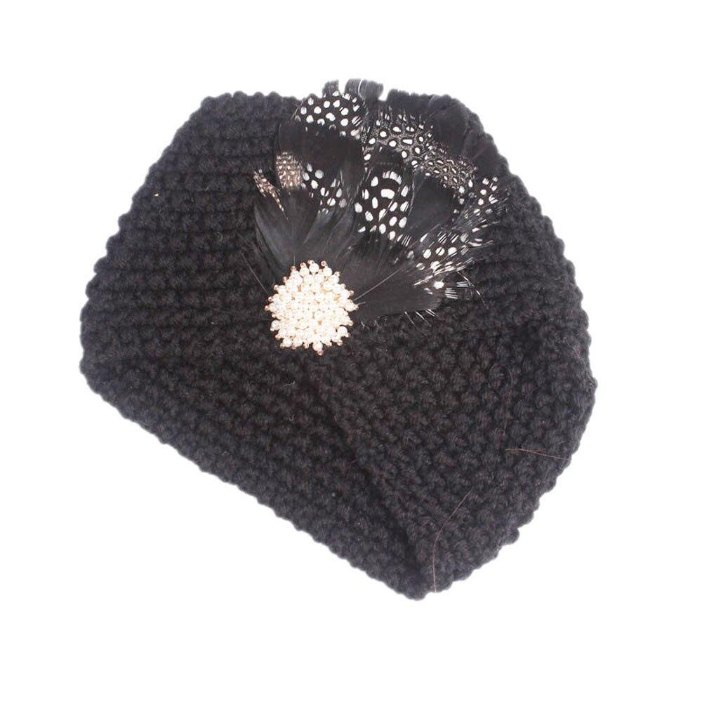 Children Baby Girls Knitting baby hats Hat Beanie Turban Head Wrap Cap Pile Cap newborn photography props knit cap