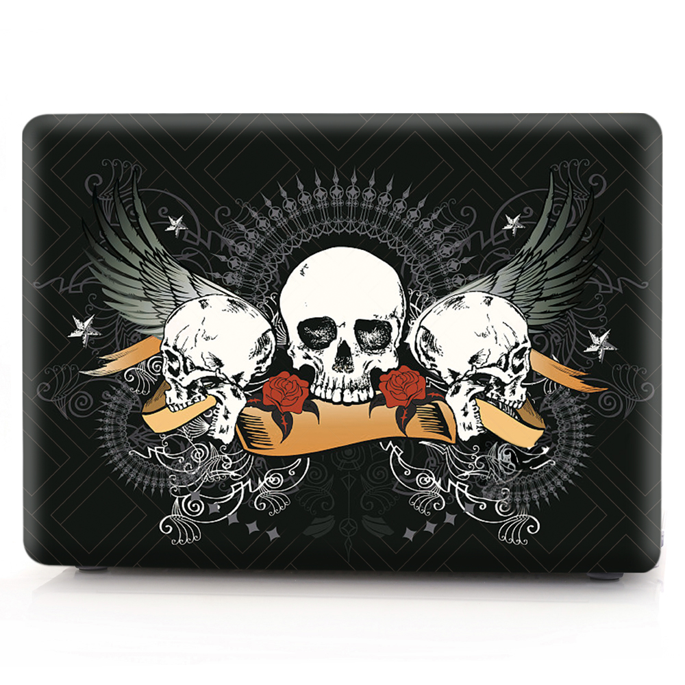 New Cover For MacBook Retina 12 13 15 Laptop Cover A1534 A1502 A1398 Cartoon Halloween Hard PC for mac book Retina 12 13 15 Case (3)