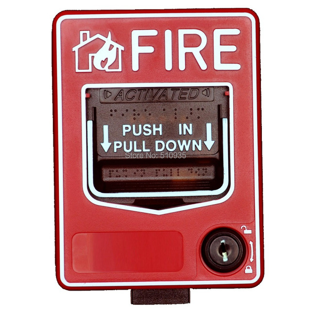 Fire Alarm System CJ SB116 Conventional Manual Call Point Easy to