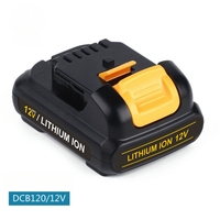GTF High Quality Battery Power tool For Dewalt 12V 2.0Ah 2000mah MAX Li ion DCB120 DCF610 DCF813 DCF815 DCD710