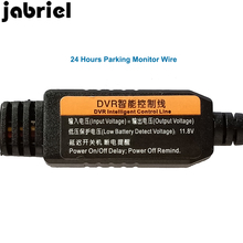 Jabriel 24 Hours Parking Monitor Wire 2.6 Meters Transformer For Car Dvrs For dash cam Car Video Recorder Probable Transformer