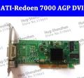 Nova ATI Radeon 7000 64 M AGP Placa De Vídeo DVI da placa Gráfica de alta Qualidade Radeon7000