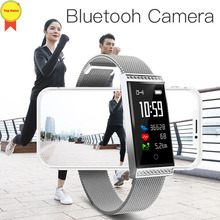 fashion Smart Wristband IP68 Waterproof Pedometer lady Fitness Tracker Smart Bracelet Heart Rate Monitor Smart Band Men Women