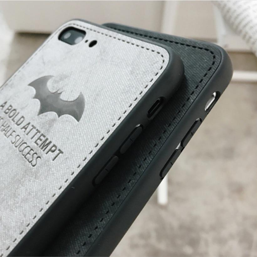 قماش من الألياف الغزلان الخفافيش اغلفة السامسونج غالاكسي A30 A50 A8 2018 A830 M10 M20 سيليكون يغطي