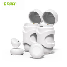 Sago x11 Fashion sport earbuds in-Eardetachable mini earphone wireless stereo earpieces with Mic/charging box for iphone 8(China)