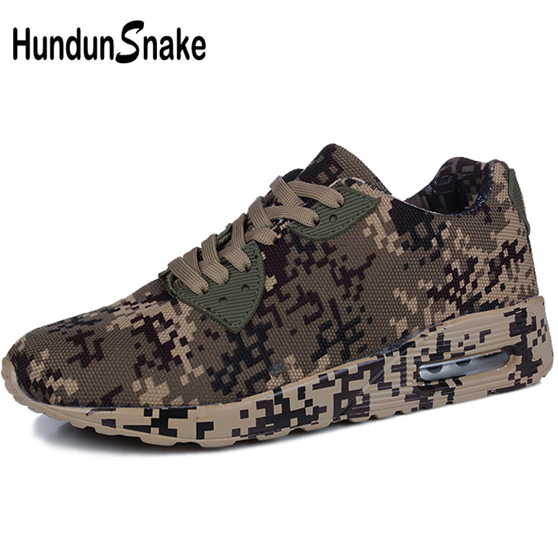 Hundunsnake Men Shoes Sport Shoes Men Sports Running Shoes For Women Sneakers Mens Footwear Camouflage Krassovki Athletic T12