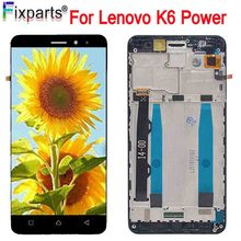 Lenovo K6 Power LCD NEW Full LCD Display Touch Screen Digitizer Assembly K33a42 k33a48 K6 Power Replacement Black With Tools цены