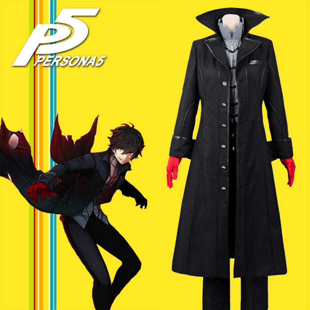 Persona 5 Cosplay Joker Leading Character Hero Protagonist Cosplay Costume Halloween Carnival Cosplay Costumes