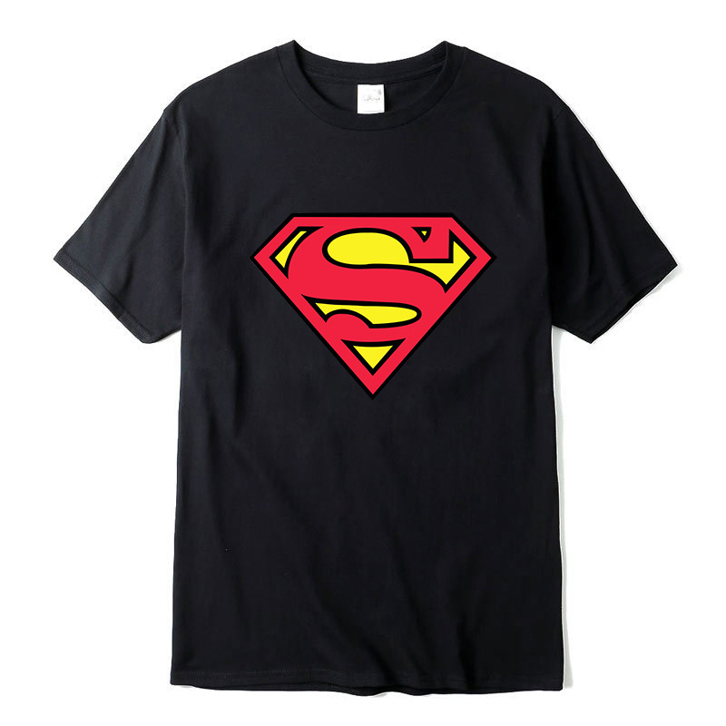 New Fashion high quality Superman   T     Shirt   Men Short Sleeve Cotton Casual   T  -  shirt   Superhero Top Tees free shipping