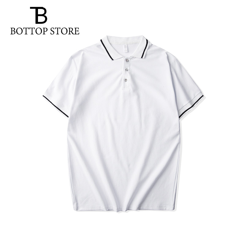 Man <font><b>Polo</b></font> <font><b>Shirt</b></font> <font><b>Men</b></font> Short Sleeve Casual Collar <font><b>Polo</b></font> Male Bee Solid Color Top Tees Plus Size 4XL <font><b>8XL</b></font> Young Extra Large Apparel image