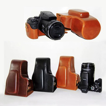 PU Leather case Camera Bag Cover for Nikon Coolpix P900s P900 camera pouch