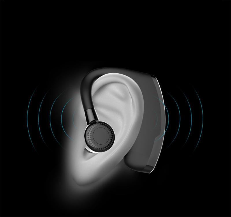 В9 GR беспроводной связи Bluetooth и наушники с шумоподавлением беспроводная связь Bluetooth бизнес-гранат с микрофон для водителя офис спорт