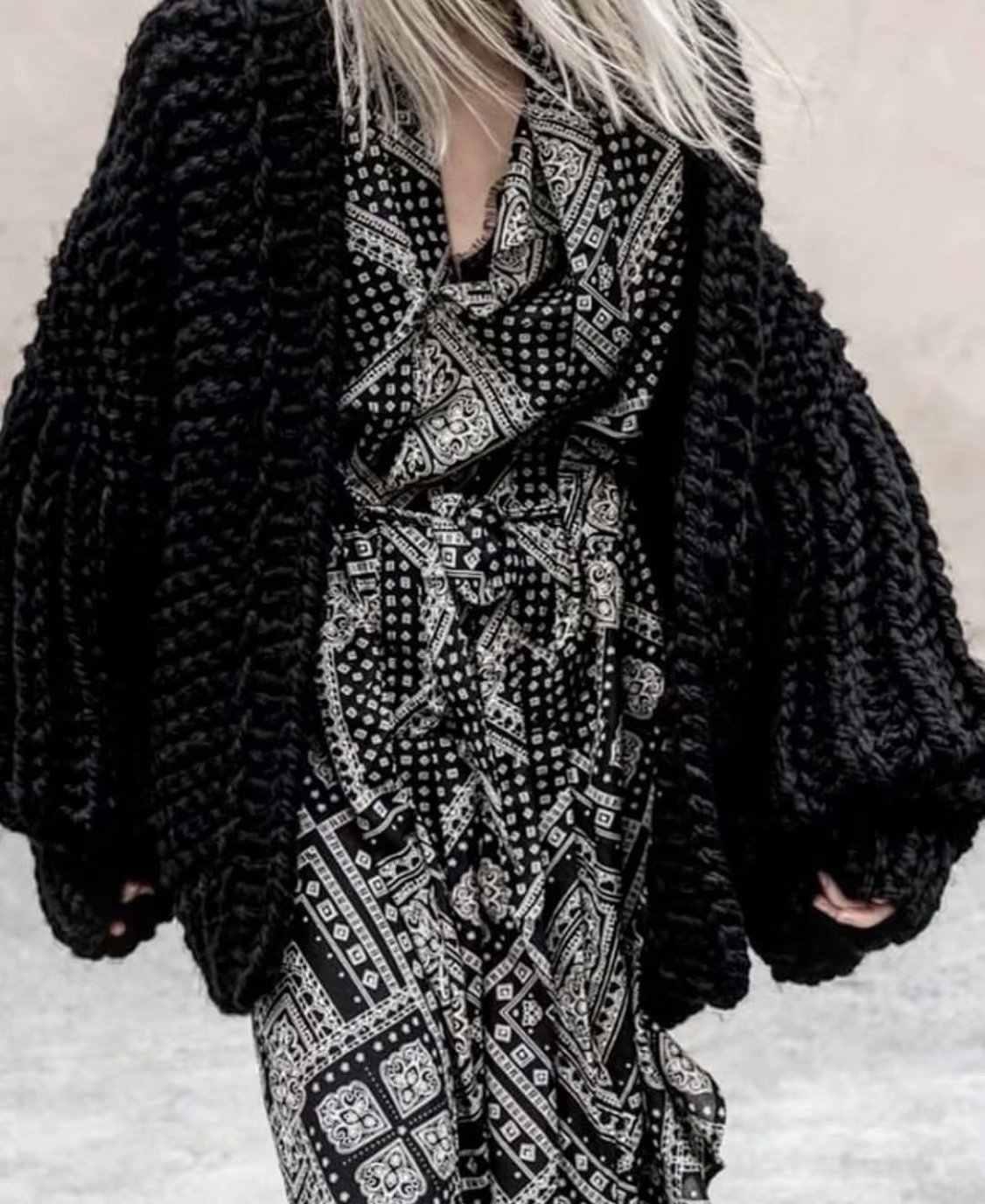 DUOUPA для женщин Мода корейский Американский длинные фонари рукавом Вязание женский свитер кардиган трикотажные повседневное теплый кардиган шаль