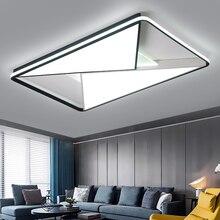 LICAN спальня гостиная потолочные светильники современный светодиодный lampe plafond avize современные светодиодные потолочные лампы с пультом дистанционного управления