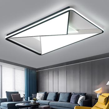 LICAN Bedroom Living room Ceiling Lights Modern LED lampe plafond avize Modern LED Ceiling Lights lamp with remote control недорого
