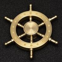 7 Minutes Fidget Spinner Newest Copper Quiet Smooth High Speed Metal Hand Spinner T31