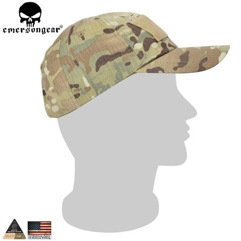 Chapéu de Verão Masculinos do Homem Boné de Beisebol Tático do Exército Emersongear Caminhadas Acampamento Camuflagem Biônico Pesca Cadete Tampão Militar Chapéu