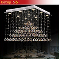 Лучшая цена K9 Хрустальная люстра Роскошная Пирамида LED хрустальный свет люстры de cristal люстры светильники
