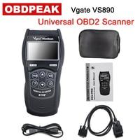 Vgate VS890 OBD2 EOBD Diagnostic Tool VS890 MaxiScan Vgate OBD SCAN Multi Language VS 890 Car Code Reader Free Shipping