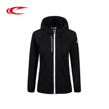 SAIQI Thick Running Jacket For Women Winter Zipper Long Sleeve Women Sport Jacket Fitness Ladies Hoodies Sports Women's Clothing