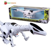 Free Shipping Boys Kids Jurassic T Rex Large Electric Dinosaur With Light Sound Robot Educational Best