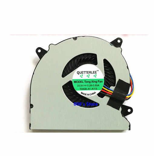 جديد مروحة تبريد لوحدة المعالجة الرئيسية ل ASUS N550 N550J N550JA N550JK N550JV N550X R550J Q550LF Q550 Q550L N550L MF60070V1-C180-S9A المبرد