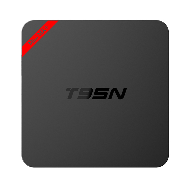 2016! T95N Mini MX plus Caja de la TV Android Quad Core Amlogic S905 Android 5.1 1G/8G 2.4G/5G Dual WiFi 4 K Kodi 16.0 Cargado Set Top TV
