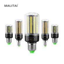 1 шт. Высокий люмен 5736 SMD E27 E14 3,5 Вт 5 Вт 7 Вт 8 Вт 12 Вт 15 Вт Светодиодный светильник-кукуруза 85 В-265 в постоянный ток без мерцания 28-156 светодиодный s лампа