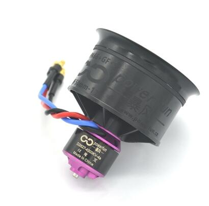 Balance Tested for EDF 4S RC Jet Airplane Powerfun EDF 50mm 11 Blades Ducted Fan with RC Brushless Motor 4300KV with ESC 40A 2~4S