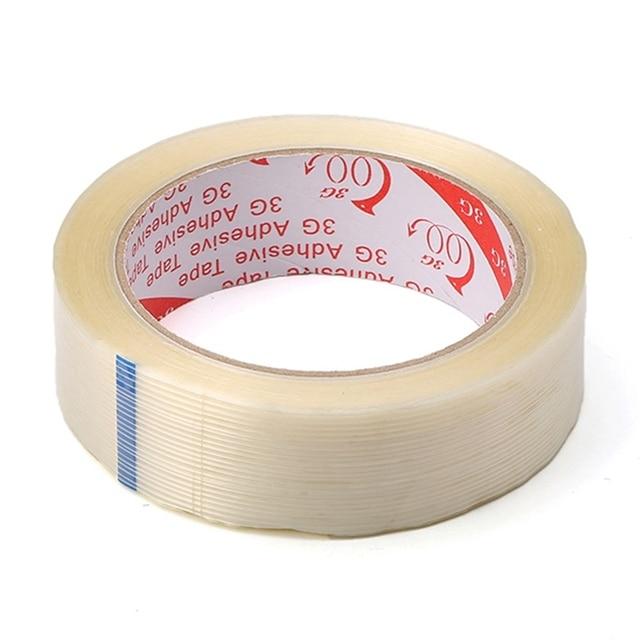 2cm 3cm 4cm Strong Fiber Strips Adhesive Tape For RC Models