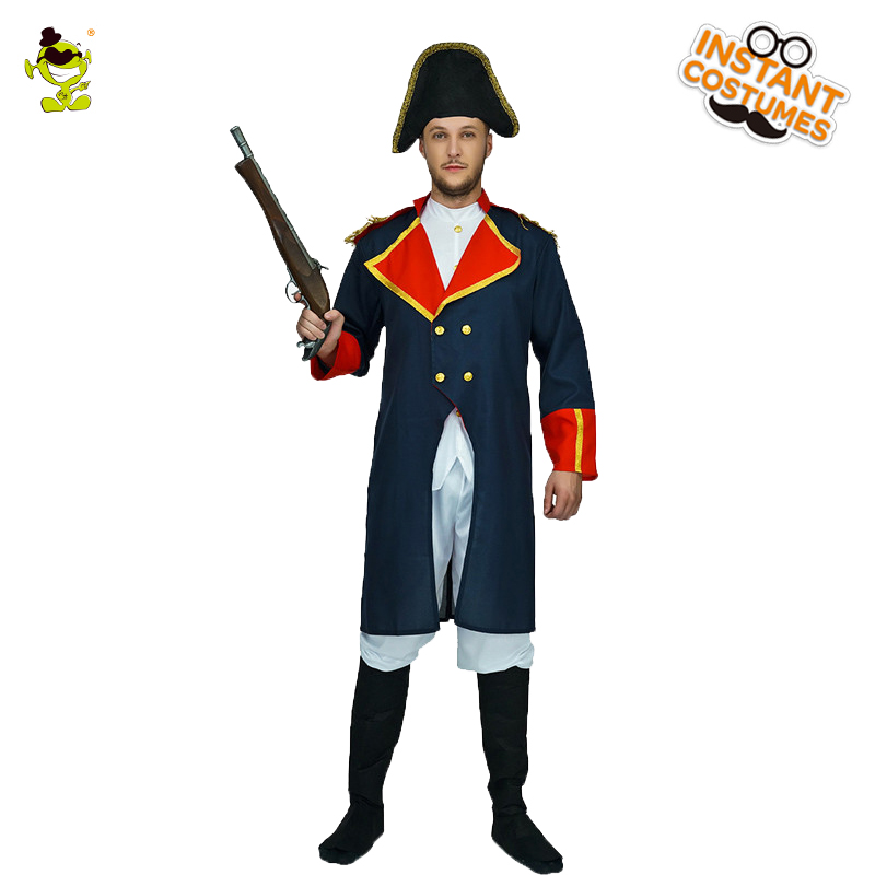 Popular French Emperor Napoleon Costume Role Play Clothes For Party Cosplay Deluxe  Napoleon Costumes