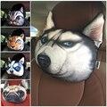 3D criativo Animal da Cara do Tigre Carro Encosto de Cabeça Travesseiro Apoio Sead mulheres Sono Resto Pescoço Resto Almofada Encosto de Cabeça Do Assento Do Carro de Pelúcia 1 PC