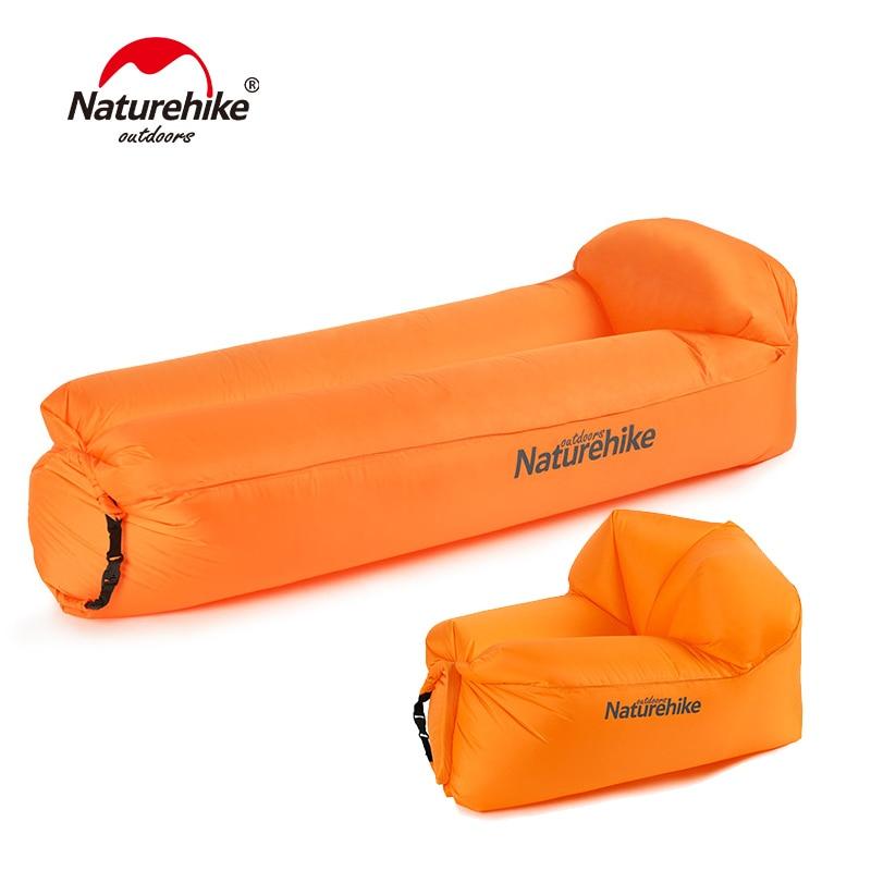 Naturehike Extérieure Portable Étanche Gonflable Air Canapé Camping Plage Canapé Pliable Transat NH18S030-S