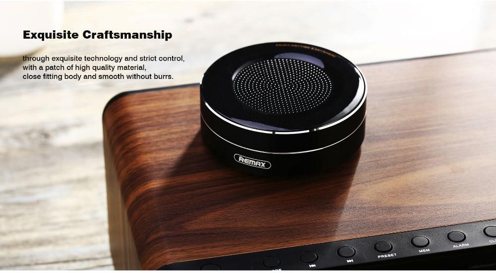 HTB152BOj9tYBeNjSspaq6yOOFXaW Remax Bluetooth Portable Speaker RB-M13 - Black