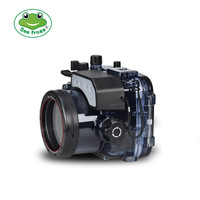 Водонепроницаемый чехол для Sony RX100 V Камера фотографии Подводный 60 м защитный Корпус оборудование для дайвинга Камера Аксессуар коробка