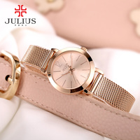 Brand Luxury Women Watches Ladies Casual Quartz Watch Female Clock Silver Stainless Steel Bracelet Dress Relogio Feminino JA 732
