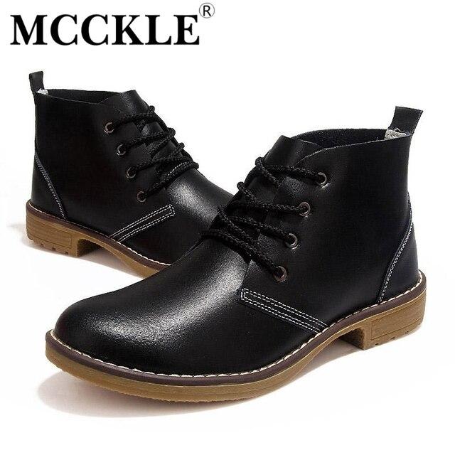 Mcckle mujer moda motocicleta del tobillo botas de cuero genuino ata para arriba zapatos de moda casual para mujer de la vendimia de alta superior j4359