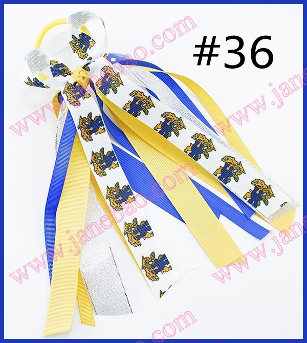 50 BLESSING Good Girl B-Pony O Hair Bow Ponytail Streamers 90 Styles