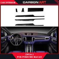 Для macan Тюнинг автомобилей, углеродное волокно авто аксессуары интерьера запчастей для porsche 2014 2015