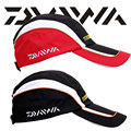 Daiwa Brand Travel Hat Traveler Outdoor Cool Fitted Sports Summer UV Sun Protection Caps Hiking Fishing Bucket Hat For Men Black