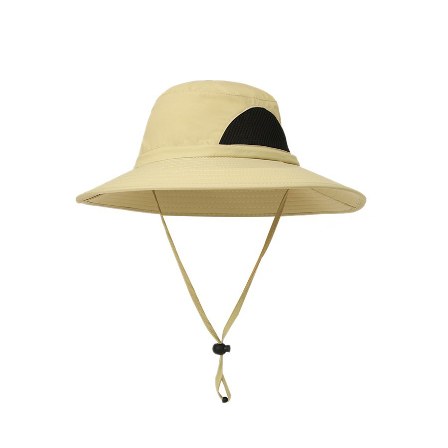 16b9ff2c0b5 2018 new Outdoor Adjustable Waterproof Sun Hat UV Protection Bucket Mesh  Boonie Cap-in Fishing Caps from Sports   Entertainment on Aliexpress.com