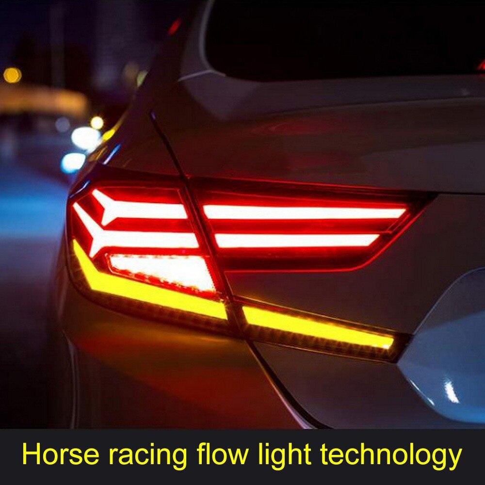Ensemble de lumière LED arrière de feu arrière de style de voiture pour Kit de feux arrière Honda Accord
