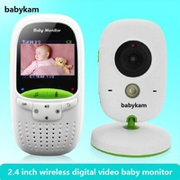 babykam vigila bebes con camara baby monitor video 2.0 inch LCD IR Night Vision Temperature Monitor 8 Lullabies Video Intercoms
