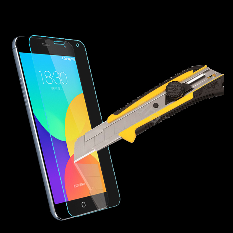 Tempered Glass Screen Protector guard BAG CASE for Meizu mx4 pro MX 5 - Mobile Phone Accessories and Parts